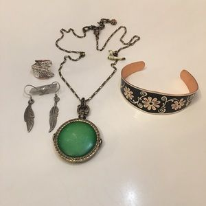 Vintage and New Nature Boho Jewelry Collection